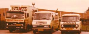 Wagenpark rond 1983