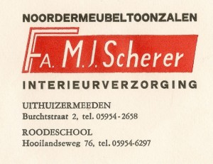 logo Fa. M.J. Scherer 67